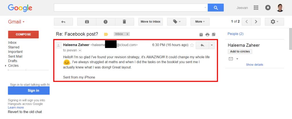 Haleema Email